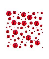Стразы цветные микс размеров в баночке SIAM 04