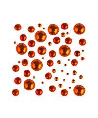 Стразы цветные микс размеров в баночке HYACINTH 05