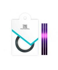 TNL, Нить на клеевой основе (фиолетовая) для дизайна ногтей