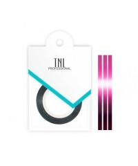 TNL, Нить на клеевой основе (розовая) для дизайна ногтей
