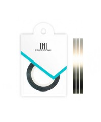 TNL, Нить на клеевой основе (серебро) для дизайна ногтей