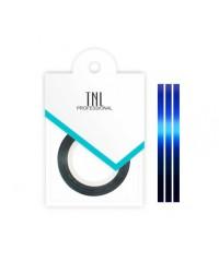 TNL, Нить на клеевой основе (синяя) для дизайна ногтей
