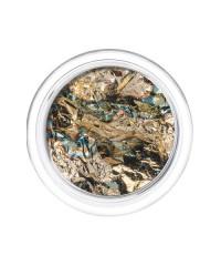 Фольга отрывная Сусальное золото в пластиковой баночке 14