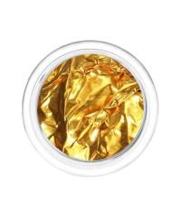 Фольга отрывная Сусальное золото в пластиковой баночке ЗОЛОТО 15