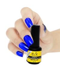 """Краска для покрытия и дизайна ногтей Metallic """"IRISK"""" 6 мл. синяя"""