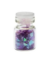 Осколки стекла №11, фиолетовый