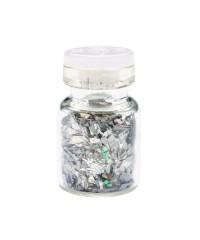Осколки стекла №2, серебро