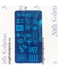 Пластина для стемпинга XY-17
