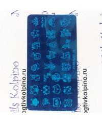 Пластина для стемпинга XY-32