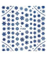 Наклейки ультратонкие Новый год Д258-00-22 (F-282)
