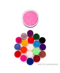 Бархатный песок (розовый) 01