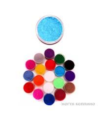 Бархатный песок (голубой) 12