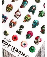 Слайдер 3Д клоуны B464
