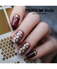 Трафарет для дизайна ногтей PrimaNails. Марокко