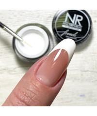 Гель-краска Nail Republic для френча и тонких линий белая 5 гр.