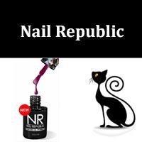 гель-лак Кошачий глаз Nail Republic