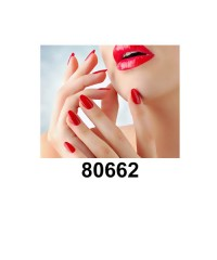 Гель-лак Shellac Bluesky 80662 (красный)