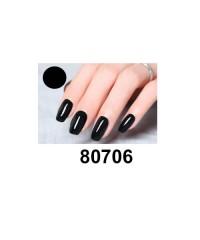 Гель-лак Shellac Bluesky 80706 (чёрный)