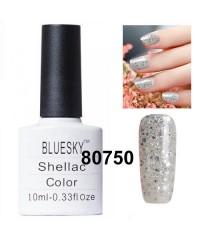 Гель-лак Shellac Bluesky 80750 (блёстки и конффети)
