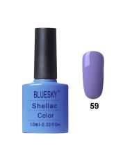 Гель-лак Bluesky E 59 (тёмно-голубой)