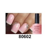 Гель-лак Shellac Bluesky 80602 (нежно-розовый для френча)