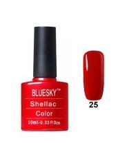 Гель-лак Bluesky E 25 (тёмно-красный)