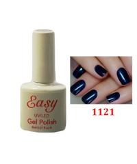 Гель-лак Easy темно-синий с микроблеском 1231