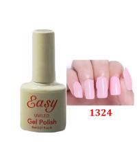Гель-лак Easy темно-красный с блестками 1324