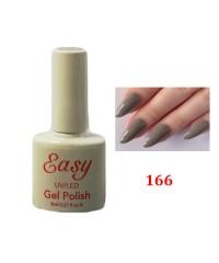 Гель-лак Easy темно-серый 166