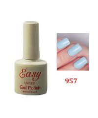 Гель-лак Easy голубой 957