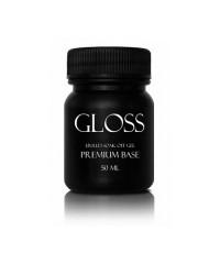 Gloss Premium Base каучуковое базовое покрытие без кисти 50 мл.