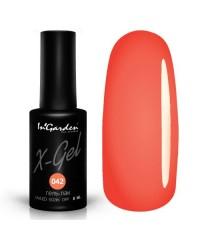Гель-лак X-GEL №42 персиково-оранжевого цвета, 8мл