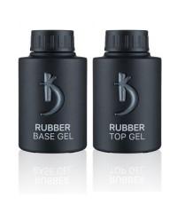Kodi Professional, Rubber Base + Rubber Top (База плюс топ) 35мл.