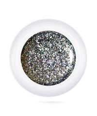 Глиттер-гель Patrisa nail серебро, 5мл