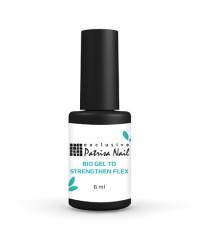 Patrisa nail, Био-гель Флекс для укрепления натуральных ногтей с кисточкой, 8 мл.
