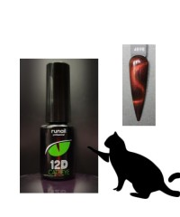 Гель-лак Cat's eye 12D, 6 мл №4898