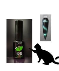 Гель-лак Cat's eye 12D, 6 мл №4900
