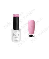 Гель-лак INDI laque 3063, бледо-розовый