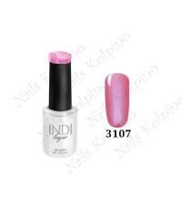 Гель-лак INDI 3107, розовый, перламутровый