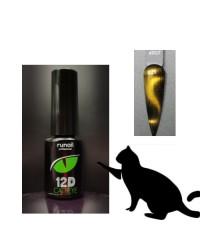Гель-лак Cat's eye 12D, 6 мл №4907