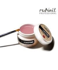 RUNAIL, Гель для уплотнения ногтевой пластины Lasting gel (розовый), 15 гр.
