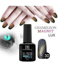 """Гель-лак """"TNL - magnet lux"""" №30 - фиалковый фейерверк (10 мл.)"""