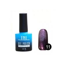 "Гель-лак ""TNL - ""chameleon"" эффект №11 - пурпурная темная материя (10 мл.)"