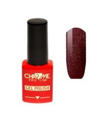Гель-лак CHARME 045 - глубокий пурпурно красный