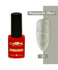 Гель-лак CHARME Megapolis effect 01 Токио