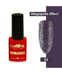 Гель-лак CHARME Megapolis effect 03 Сеул