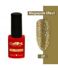 Гель-лак CHARME Megapolis effect 07 Дубай