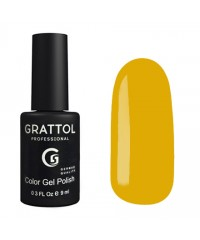 Гель-лак GRATTOL 180 Yellow Autumn (Желтая Осень)