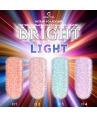 Гель-лак светоотражающий Bright Light №02