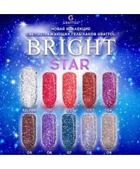 Гель-лак светоотражающий Bright Silver